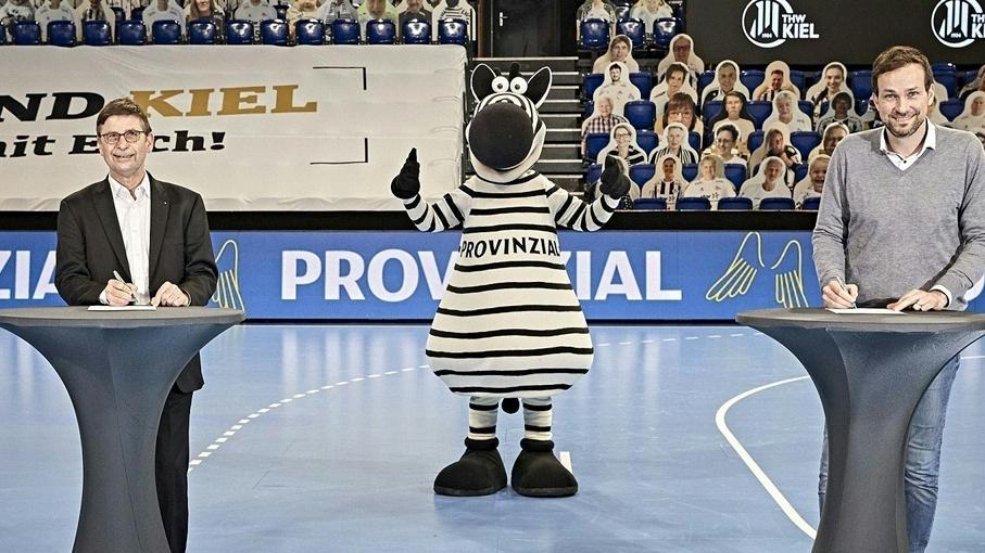 THW Kiel und Provinzial verlängern Partnerschaft