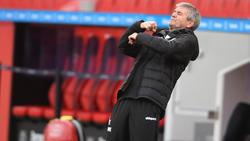 Friedhelm Funkel verlor bei seinem Debüt als Trainer des 1. FC Köln
