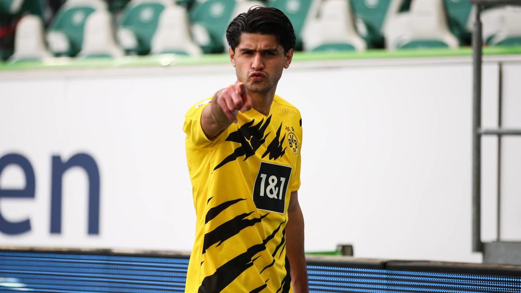 Mahmoud Dahoud steht noch bis 2022 beim BVB unter Vertrag