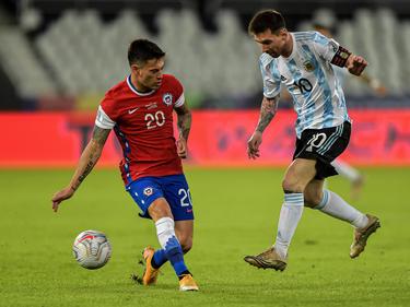 Messi tampoco consiguió esta vez superar a Chile.