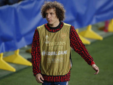David Luiz no jugará más para el Arsenal.