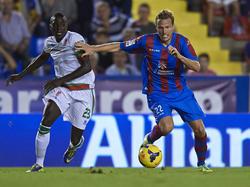 Nicht mehr für Levante am Ball: Christian Lell (r.)
