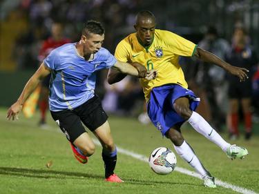 Brasil y Uruguay ya se vieron las caras en el Sudamericano Sub-20 de 2015. (Foto: Imago)