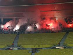 Diese (illegale) Pyroshow kostet Sturm Graz 5.000 Euro