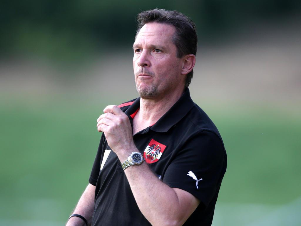 U21-Teamchef Werner Gregoritsch kann zufrieden sein
