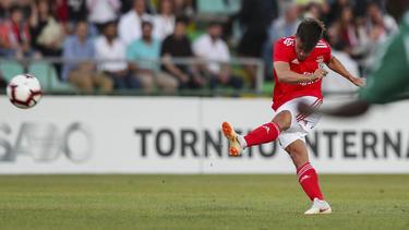 Franco Cervi erzielte für Benfica den Treffer des Abends