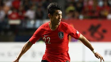 Stand beim Sieg gegen Usbekistan auf dem Platz: Der Bochumer Lee Chung Yong