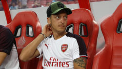 Mesut Özil kommt beim FC Arsenal derzeit nicht zum Zug