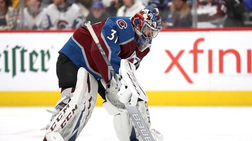 Philipp Grubauer gelang ein Shootout in der NHL