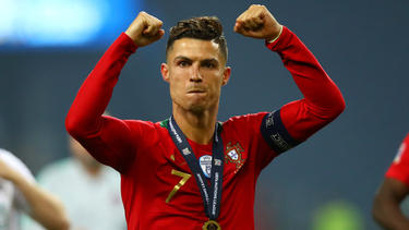 Cristiano Ronaldo gewann mit Portugal die Nations League
