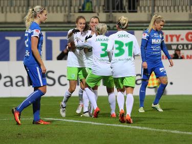 Wolfsburg steht im Viertelfinale der Champions League