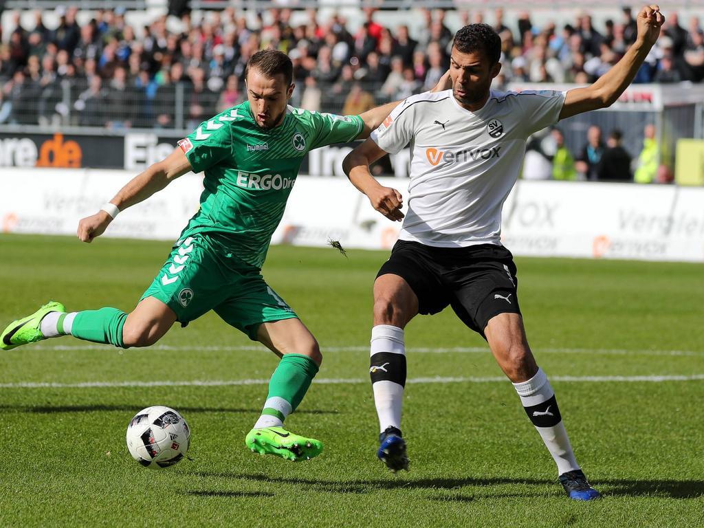 Veton Berisha kommt aus Fürth nach Wien-Hütteldorf