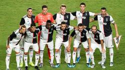 Once de la Juventus de esta pasada pretemporada.