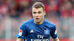 Wechselt zum FC Zürich: HSV-Spieler Vasilije Janjicic. Foto:Andreas Gora