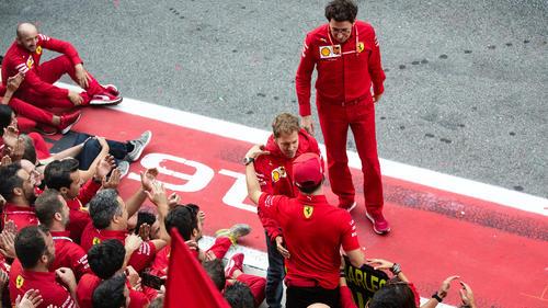 Sebastian Vettel ist laut Mattia Binotto weiter ein wichtiges Teammitglied