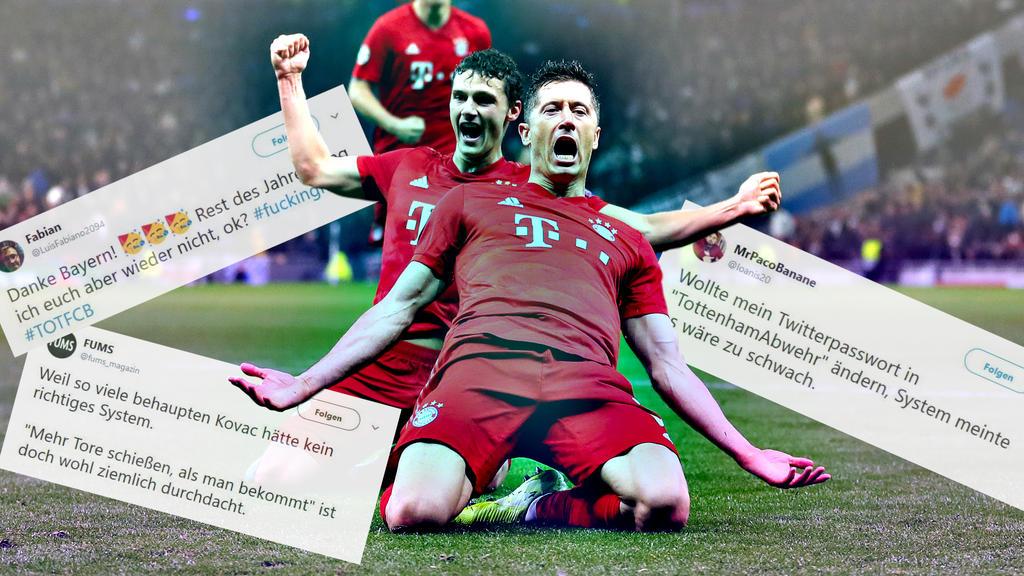 Tottenham Gegen Bayern