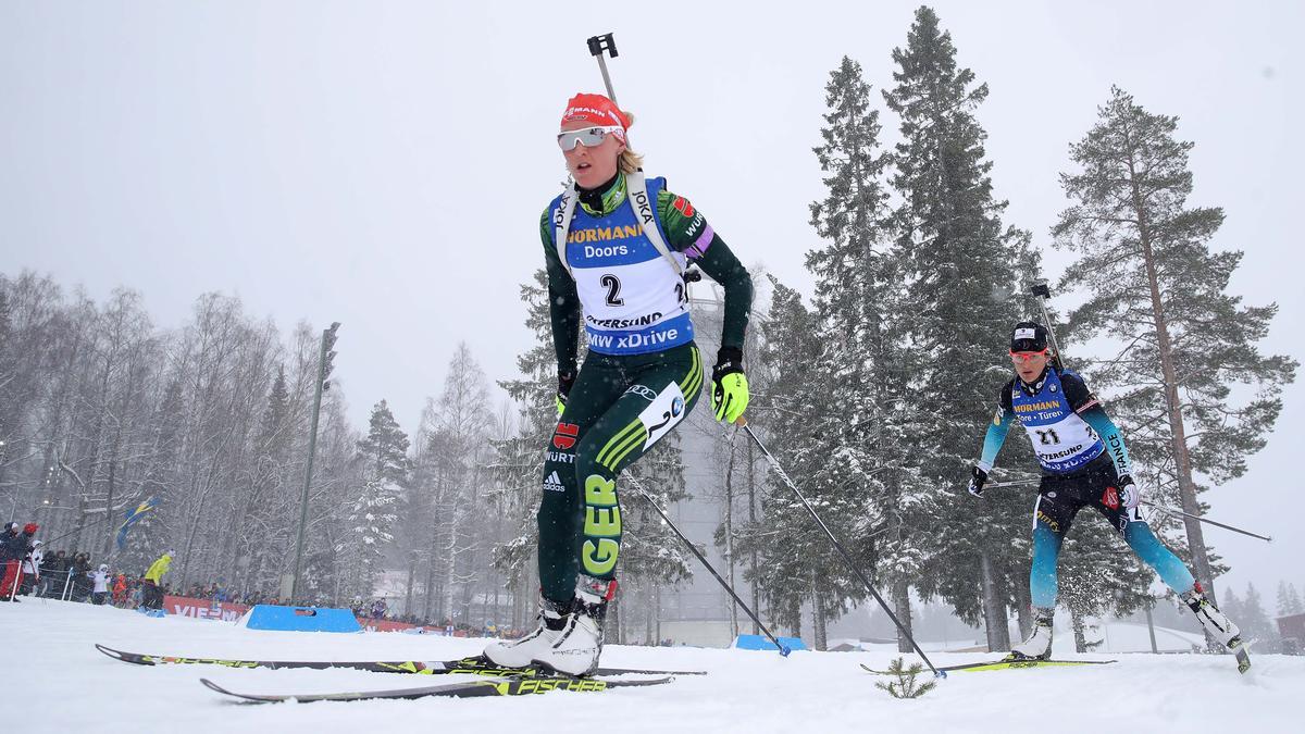 Biathlon im Live-Ticker