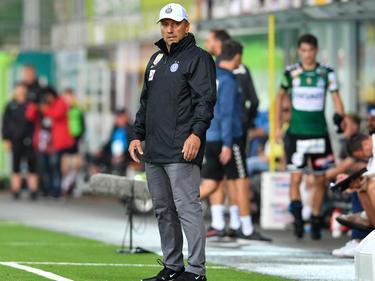 Manfred Schmid war mit der Leistung seiner Mannschaft einverstanden