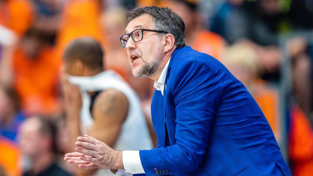 Silvano Poropat ist der Trainer des Mitteldeutschen BC