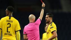 Emre Can sah im Rückspiel gegen Paris die Rote Karte