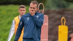 Nimmt mit dem FCBayern offenbar das Training wieder auf: Coach Hansi Flick