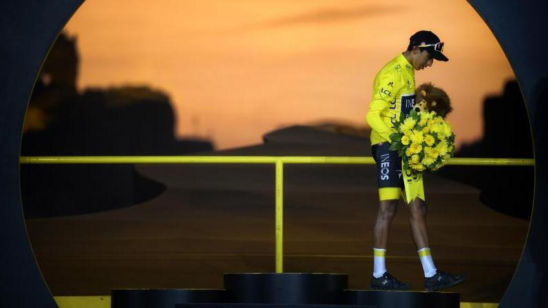 Egan Bernal hat 2019 die Tour de France gewonnen