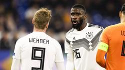 Bald Teamkollegen beim FC Chelsea: Timo Werner und Antonio Rüdiger