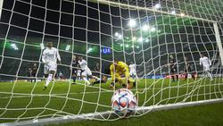 Casemiro rettete das Unentschieden gegen Gladbach
