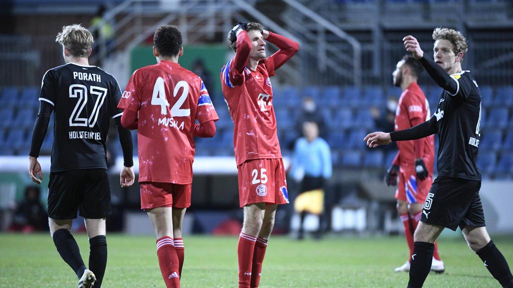 Pressestimmen zur Pleite des FC Bayern bei Holstein Kiel im DFB-Pokal