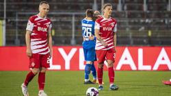 Bittere Niederlage für die Würzburger Kickers
