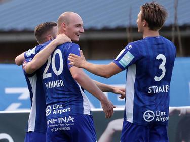 Blau Weiß Linz schlug den FAC mit 2:0