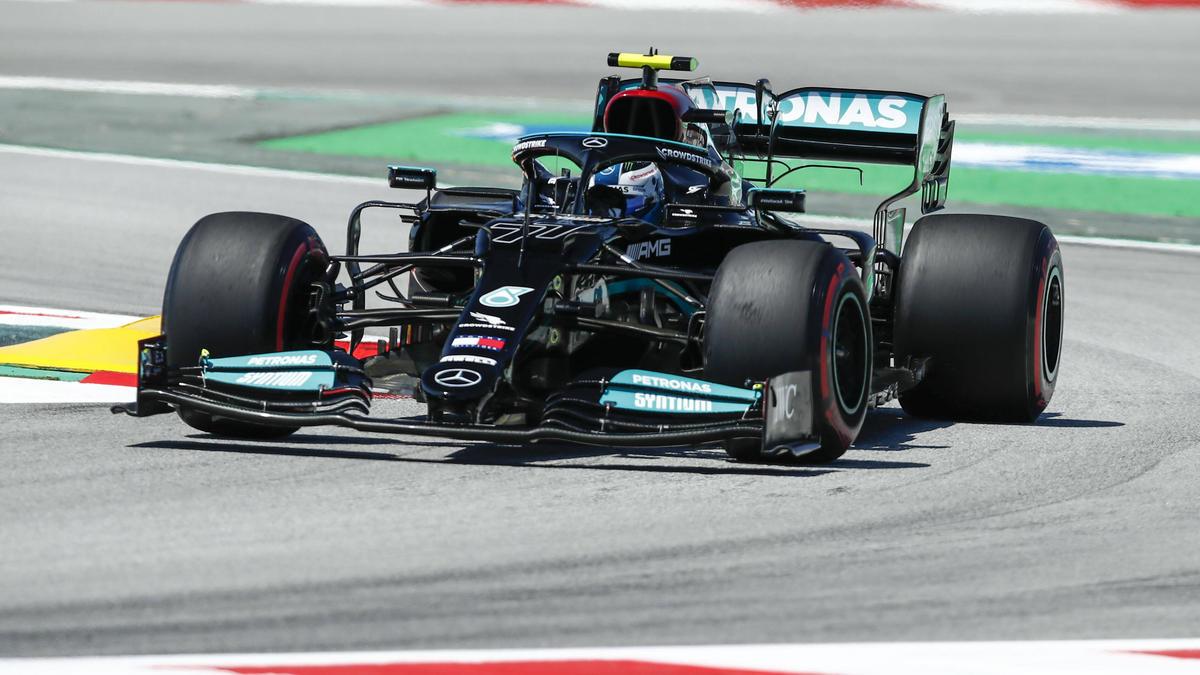 Valtteri Bottas startet in Barcelona von P3 hinter Hamilton & Verstappen