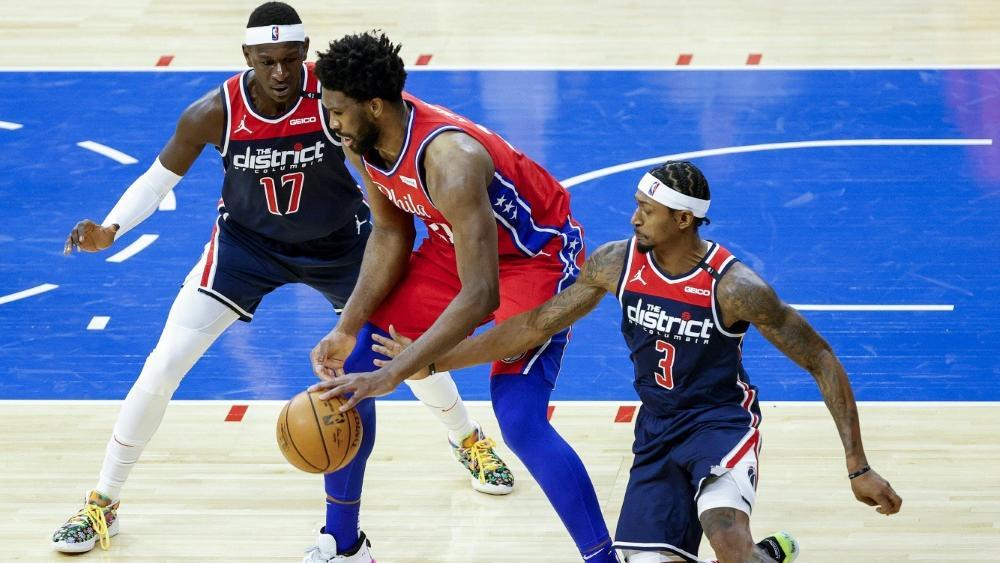 Isaac Bonga (#17) und die Washington Wizards stehen vor dem Aus in den NBA-Playoffs