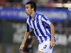 Seit 2004 im Trikot von Real Sociedad: Mikel González