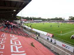 Das Würzburger Stadion liegt mitten in einem Wohngebiet