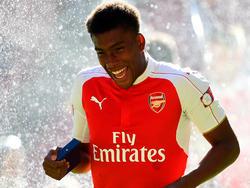 Alex Iwobi hat sich langfristig an den FC Arsenal gebunden