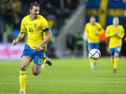 Zlatan Ibrahimovic und seine Schweden wollen das EM-Ticket lösen