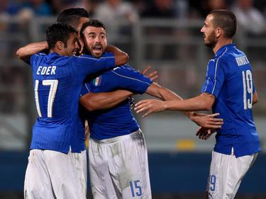 Graziano Pellè hizo el gol de Italia. (Foto: Getty)