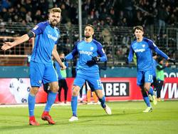 Hinterseer (li.) erzielte den Anschlusstreffer für die Bochumer