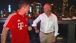 Bayern-Boss Karl-Heinz Rummenigge (re.) hat sich zur Lage beim deutschen Rekordmeister geäußert
