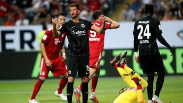 Die Eintracht kam gegen Bayern böse unter die Räder