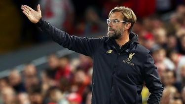 Jürgen Klopp ist mit dem FC Liverpool im Ligapokal gescheitert