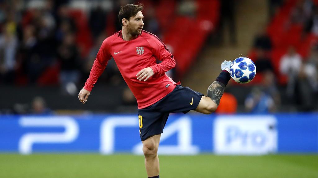 Am Ball ist Lionel Messi ein wahrer Artist