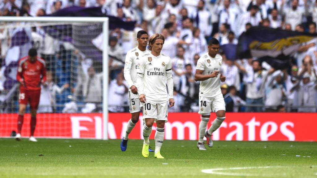 El Madrid lleva cinco partidos de Liga sin ganar. (Foto: Getty)