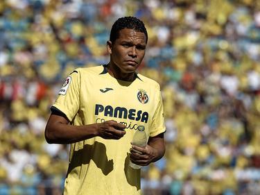 Carlos Bacca ist einer von mehreren Villarreal-Ausfällen gegen Rapid. © imago/ZUMA Press/David Aliaga