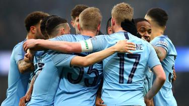 Manchester City feiert Kantersieg im FA Cup