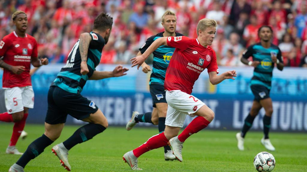 Hertha Bsc Gegen 1 Fsv Mainz 05 Live Ticker Tv Stream Und