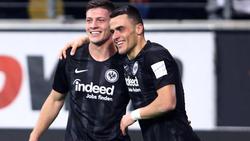 Filip Kostic und Luka Jovic hatten Anteil am Erfolg von Eintracht Frankfurt