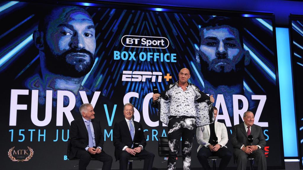 Tyson Fury trifft in Las Vegas auf Tom Schwarz