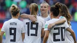 Die deutschen Damen sind erfolgreich in die WM gestartet